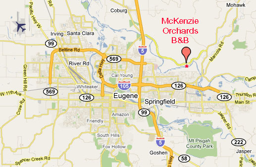 mckenzie orchards b b modern pet friendly cyclist friendly