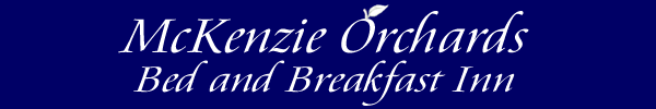 McKenzie Orchards B&B logo